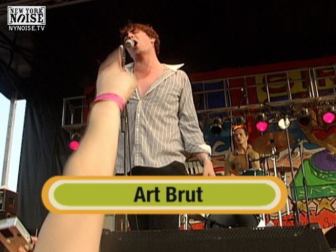 Art Brut at Siren, 2006