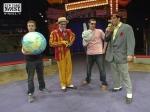 Devlin and Darko at the Big Apple Circus, 2007