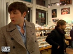 Mark Ronson in Other Music, 2007. Peter of PB&J in the background