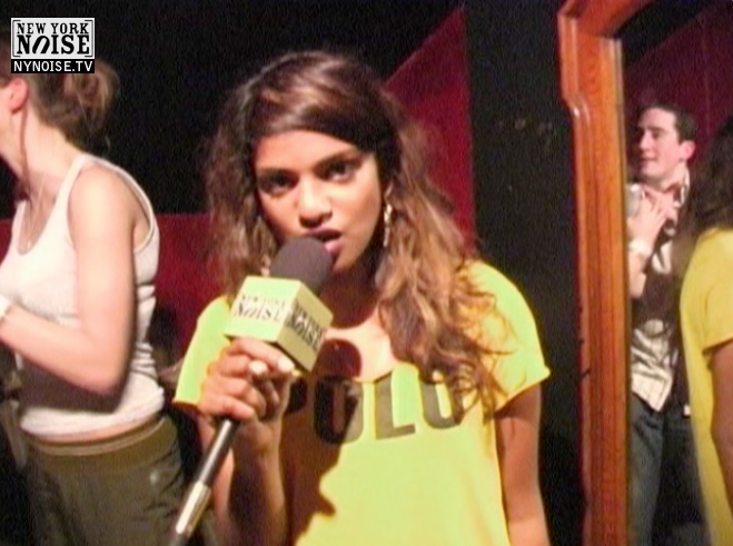 MIA, backstage at the old knitting factory, 2005. Ya hear? Check Check.