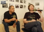 Thurston Moore and Byron Coley, 2008
